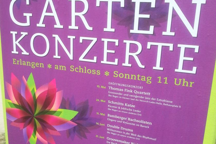 Konzerte im Schlossgarten Erlangen