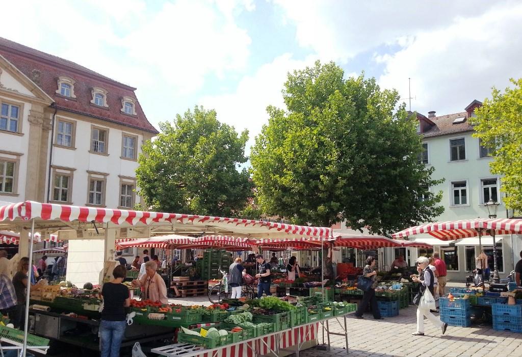 Erlangen und Markt