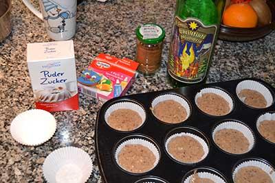 Muffin-Teig