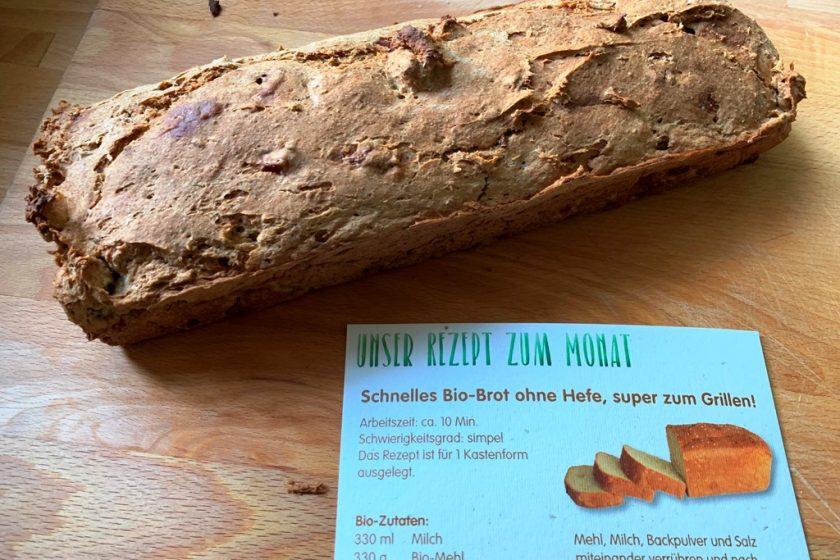Bio-Brot zum Grillen