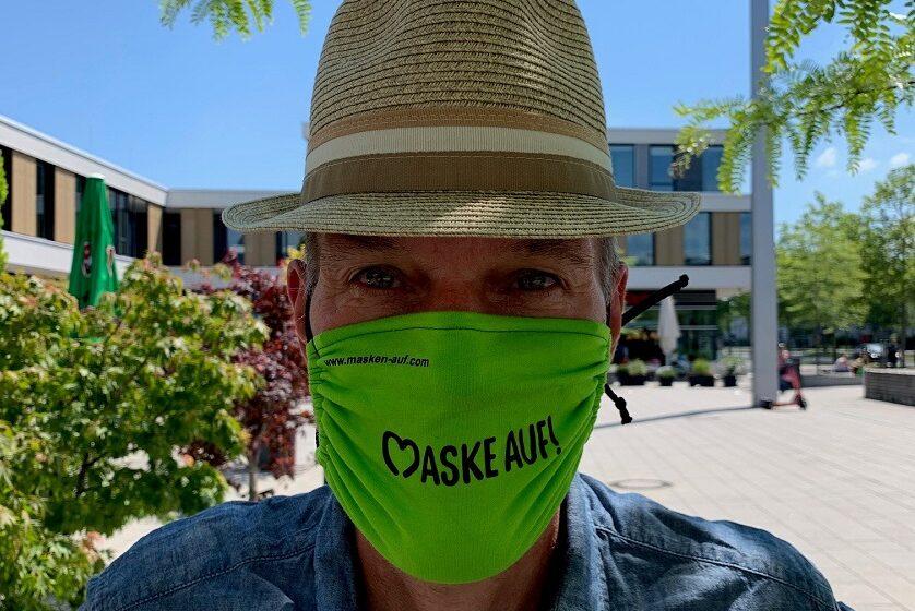 Masken auf sich und andere schützen